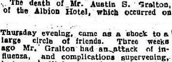 Death of Austin Sarsfield Ireland gralton 01
